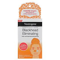 Neutrogena blackead eliminating, tiras exfoliantes, 6 unidades