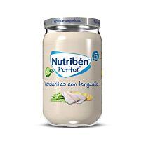 Nutribén potitos, verduritas con lenguado, 235 g