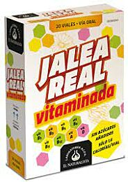 Jalea real vitaminada, 20 viales