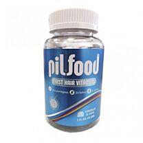 Pilfood first hair vitamins, (60 caramelos de goma)