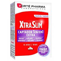 Forte pharma xtraslim captador 3 en 1, 15 dÍas