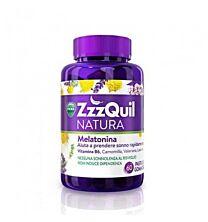 Zzzquil natura melatonina 60gominolas